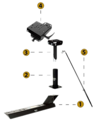 Sprinter Van Pedestal Vehicle Kit