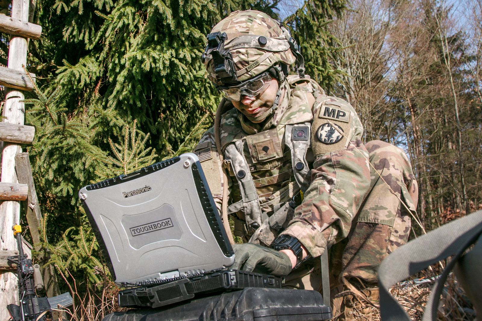 Panasonic Toughbook military laptops